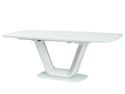 Stół rozkładany ARMANI biały mat 160(220)X90