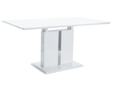 Stół rozkładany DALLAS biały lakier (110-150)X75