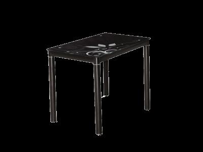 Stół szklany DAMAR czarny 100X60