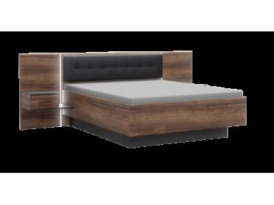 Łóżko + szafki nocne BELLEVUE BLQL161B