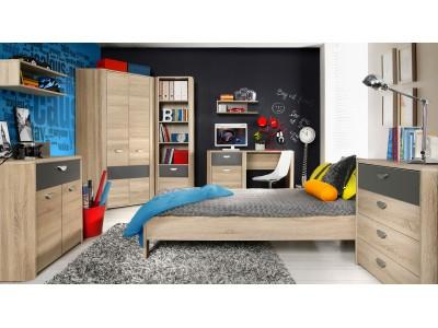 Łóżko młodzieżowe YOOP YPL09