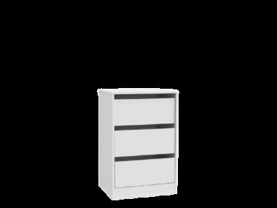 Komoda wewnętrzna szafy SNOW SNWK83 biała