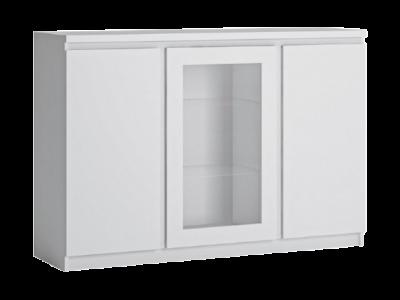 Komoda FRIBO biała 3D
