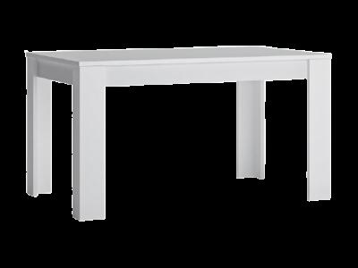 Stół rozkładany do jadalni FRIBO biały